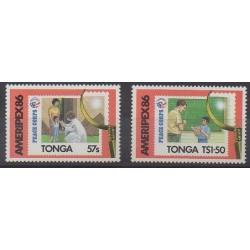 Tonga - 1986 - No 636/637 - Philatélie