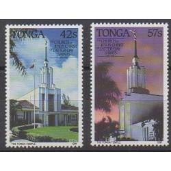Tonga - 1991 - No 818/819 - Églises