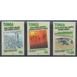 Tonga - 1990 - No 764/766 - Environnement