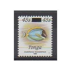 Tonga - 1992 - Nb 891 - Sea life