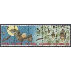 Tonga - 1992 - Nb 886/890 - Mamals