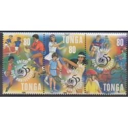 Tonga - 1996 - Nb 1055/1057 - Childhood