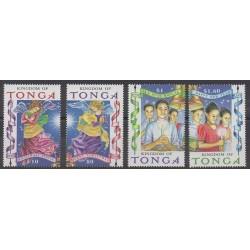 Tonga - 1998 - Nb 1138/1141 - Christmas