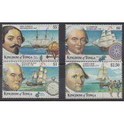 Tonga - 1999 - Nb 1142/1145 - Boats