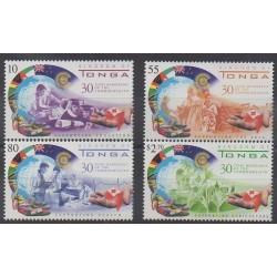 Tonga - 2000 - Nb 1172/1175 - Health