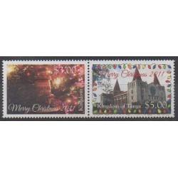 Tonga - 2011 - Nb 1249/1250 - Christmas