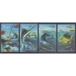 Tonga - 2001 - Nb 1185/1188 - Sea life