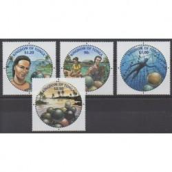 Tonga - 2002 - Nb 1203/1206 - Sea life