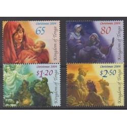 Tonga - 2004 - Nb 1239/1242 - Christmas