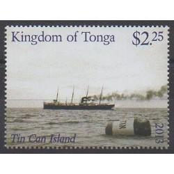 Tonga - 2013 - Nb 1401 - Boats - Postal Service