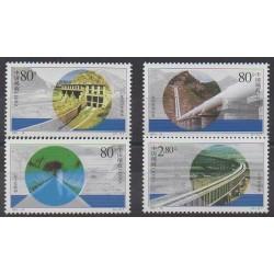 Chine - 2001 - No 3923/3926 - Sciences et Techniques