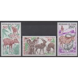 Chad - 1985 - Nb 501/503 - Mamals - Endangered species - WWF
