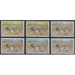 Tchad - 1992 - No 536/541