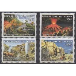 Tchad - 1998 - No 979/982