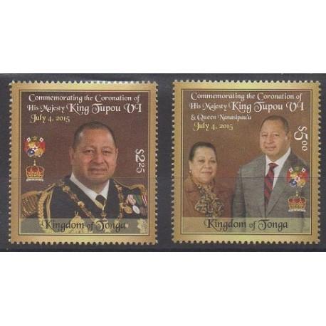 Tonga - 2015 - Nb 1451/1452 - Royalty