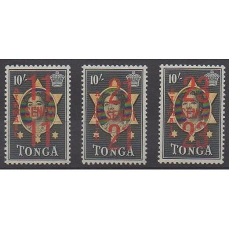 Tonga - 1968 - Nb PA37/PA39