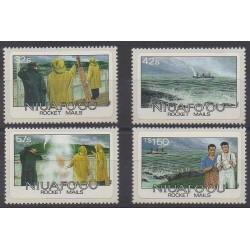 Tonga - Niuafo'ou - 1985 - Nb 58/61 - Postal Service