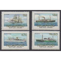 Tonga - Niuafo'ou - 1985 - Nb 54/57 - Boats - Postal Service