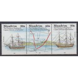 Tonga - Niuafo'ou - 1991 - Nb 137/139 - Boats