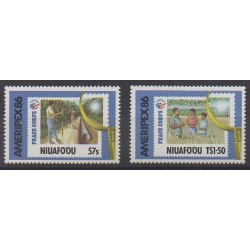Tonga - Niuafo'ou - 1986 - Nb 80/81 - Philately