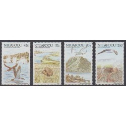 Tonga - Niuafo'ou - 1988 - Nb 102/105 - Birds