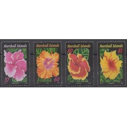 Marshall - 2005 - Nb 1857/1860 - Flowers