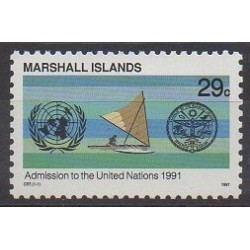 Marshall - 1991 - Nb 375 - United Nations