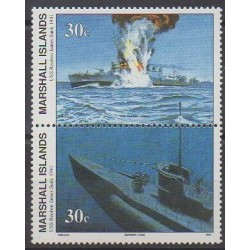 Marshall - 1991 - Nb 381/382 - Boats - Second World War