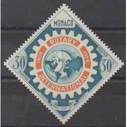 Monaco - 1955 - Nb 440 - Rotary or Lions club
