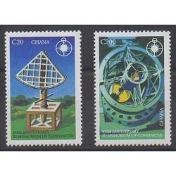 Ghana - 1993 - Nb 1503/1504 - Astronomy