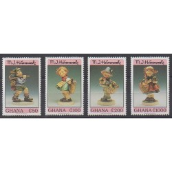 Ghana - 1994 - No 1564/1567 - Art