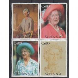 Ghana - 1995 - No 1800/1803 - Royauté - Principauté