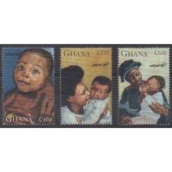 Ghana - 1996 - No 1928/1930 - Enfance