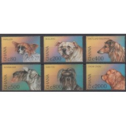 Ghana - 1997 - No 2146/2151 - Chiens