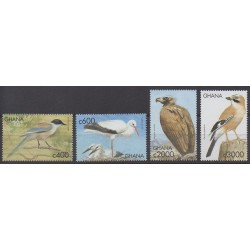 Ghana - 1999 - No 2459/2462 - Oiseaux