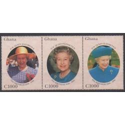 Ghana - 1996 - No 1918/1920 - Royauté - Principauté