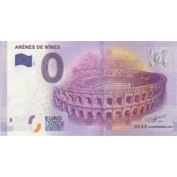 Billet souvenir - 30 - Arènes de Nîmes - 2016-1
