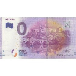 Euro banknote memory - 34 - Béziers - 2016-1