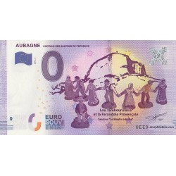 Euro banknote memory - 13 - Capitale des santons de Provence - 2016-4