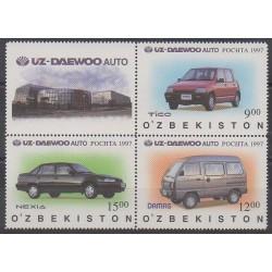 Ouzbékistan - 1997 - No 96/98 - Voitures
