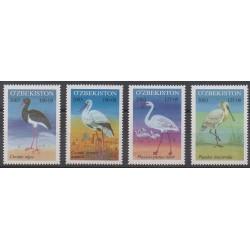 Ouzbékistan - 2003 - No 443/446 - Oiseaux