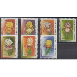 Ouzbékistan - 2002 - No 388/394 - Fleurs