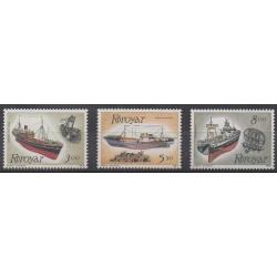 Faroe (Islands) - 1987 - Nb 145/147 - Boats