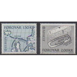 Faroe (Islands) - 1982 - Nb 64/65 - Various Historics Themes - Europa