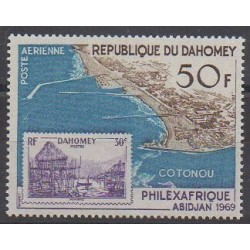 Dahomey - 1969 - No PA98 - Philatélie - Timbres sur timbres