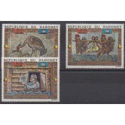 Dahomey - 1972 - Nb PA157/PA159 - Art