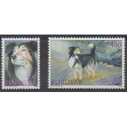 Faroe (Islands) - 1994 - Nb 258/259 - Dogs