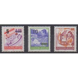 Yougoslavie - 1992 - No 2382/2384 - Service postal
