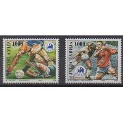 Yugoslavia - 1992 - Nb 2406/2407 - Football