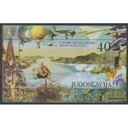 Yugoslavia - 2000 - Nb BF51 - Transport